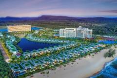 Vẻ quyến rũ, sang trọng của khu nghỉ dưỡng 5 sao Mövenpick Resort Waverly Phú Quốc trong ráng chiều