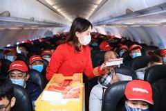Vietjet tặng triệu mã giảm 77% và miễn phí 15kg hành lý bay từ Hà Nội đi khắp Việt Nam