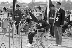 Lễ khai mạc Paralympic Tokyo 1964. Ảnh: Nippon