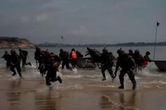 Trung Quốc tập trận đổ bộ bãi biển đối diện đảo Đài Loan