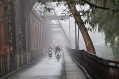 Bắc Bộ và Trung Bộ có mưa rào rải rác, trời lạnh