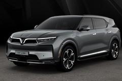 Thiết kế VF e36, mẫu SUV điện lớn nhất hiện nay của VinFast dự kiến được trưng bày tại LAAS 2021