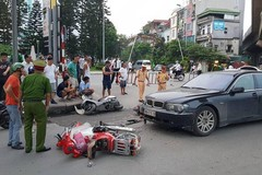 Hiện trường vụ tai nạn. (Ảnh: kenh14.vn)