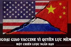 Ngoại giao vaccine vì quyền lực mềm: một chiến lược ngắn hạn