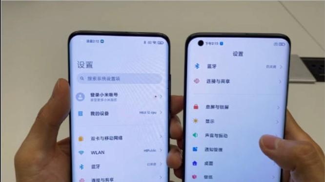 Lộ diện chiếc điện thoại có camera ẩn dưới màn hình của Xiaomi