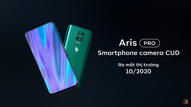 Vsmart Aris Pro camera ẩn dưới màn hình sẽ được bán ra vào tháng 10