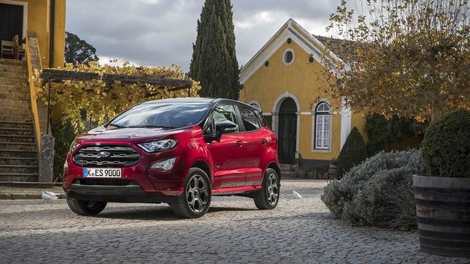 Ford EcoSport Active 2021 lộ diện ảnh phác thảo