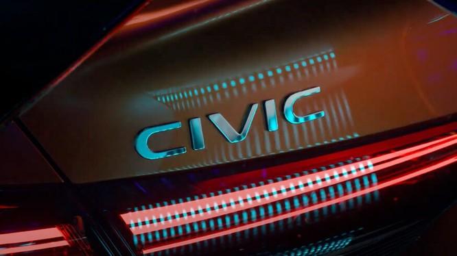 Honda hé lộ thiết kế của Civic 2022