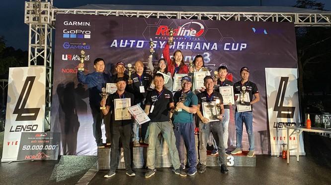 Tổng hợp kết quả giải đua Redline Auto Gymkhana Cup vòng 3