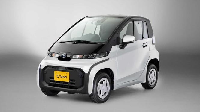 Toyota ra mắt ô tô điện cỡ nhỏ 2 ghế, chỉ 12 mã lực