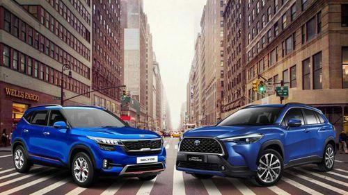 Kia Seltos và Corolla Cross đe dọa 'ngôi vương' của Hyundai Kona