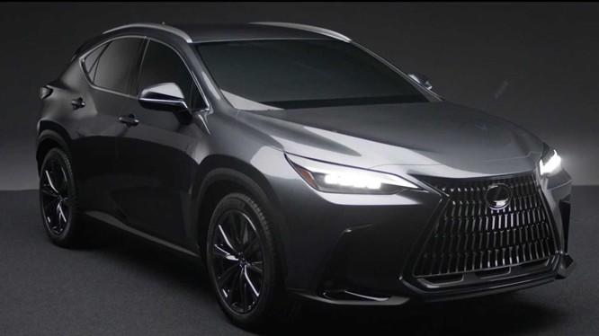 """Lexus NX 2022 thế hệ mới """"lộ hàng"""", sang chảnh và đẹp mắt hơn"""