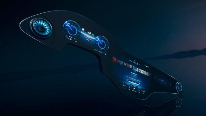Mercedes EQS sẽ có 'siêu màn hình' kích thước lên tới 56 inch