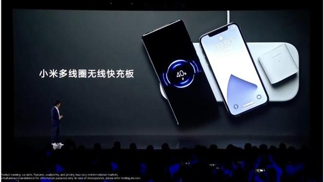 Xiaomi đã thực hiện hóa ý tưởng thảm sạc không dây AirPower của Apple