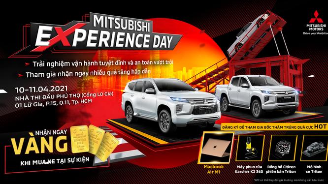 Ngày hội trải nghiệm xe Mitsubishi sắp diễn ra tại TP Hồ Chí Minh