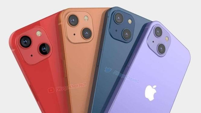 Hình ảnh kết xuất mới nhất của iPhone 13