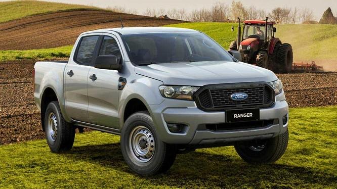 Ford Ranger 2021 phiên bản CKD đã được đăng kiểm và sẵn sàng ra mắt