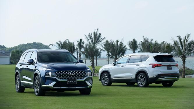 Hyundai Santa Fe 2021 chính thức ra mắt, 6 phiên bản, giá từ 1,03 tỷ