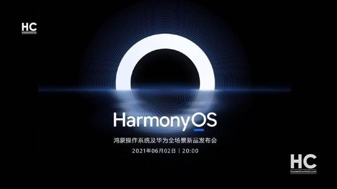 Harmory OS 2.0 sẽ được phát hành vào ngày 02.06 cùng với Huawei Watch 3 và MatePad Pro 2