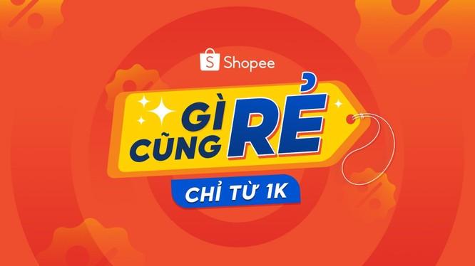 Shopee Sale ngày 15/6 hơn 6.000 sản phẩm giá chỉ từ 1 ngàn đồng