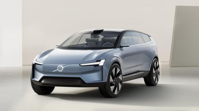 Volvo hé lộ concept SUV cỡ lớn thuần điện XC90 Recharge