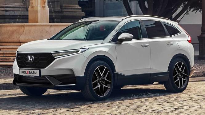 Lộ diện hình ảnh Honda CR-V 2023