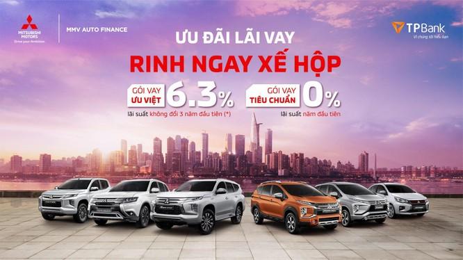 Mitsubishi Motors Việt Nam giới thiệu dịch vụ hỗ trợ tài chính dành cho khách hàng mua xe