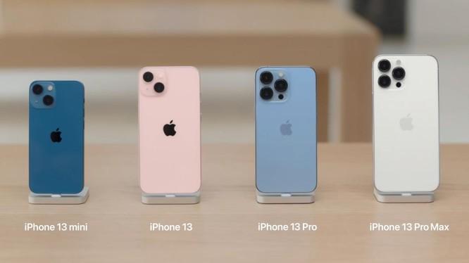 iPhone 13 Pro và 13 Pro Max lùi thời gian giao hàng sang tháng 10