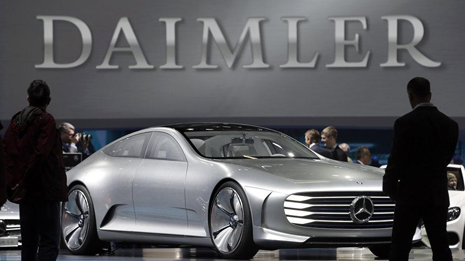 Daimler AG - tập đoàn sở hữu Mercedes đổi tên và cơ cấu hoạt động