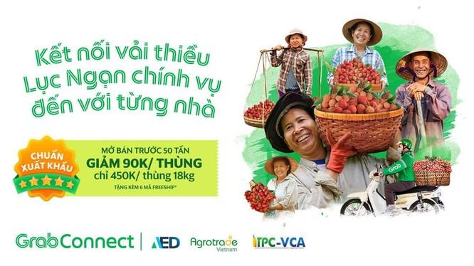 GrabConnect: hỗ trợ tiêu thụ nông sản, thúc đẩy chuyển đổi số và góp phần phát triển nông nghiệp