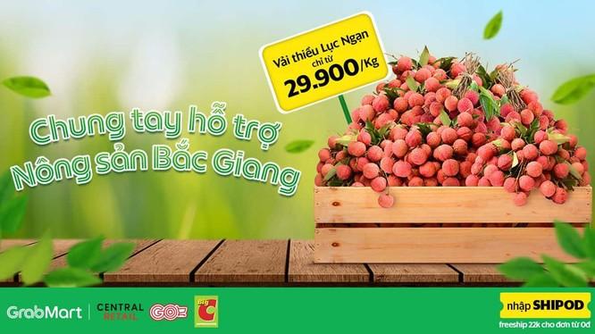 Big C Việt Nam và Grab Việt Nam chung tay hỗ trợ nông sản Bắc Giang