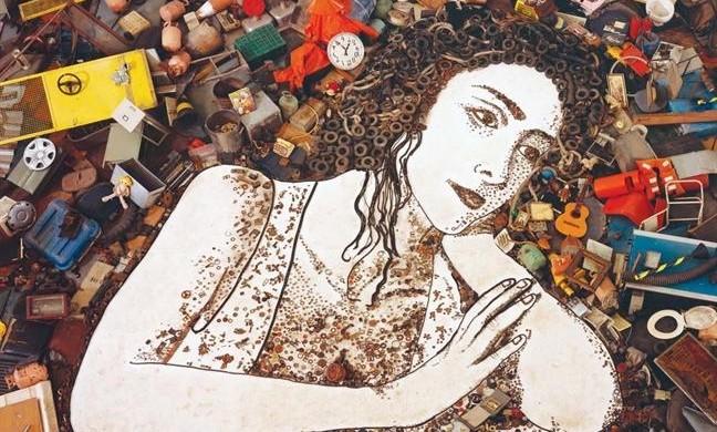 Tác phẩm bằng vải và tranh ảnh kỷ niệm 50 năm 'Con người và sinh quyển'