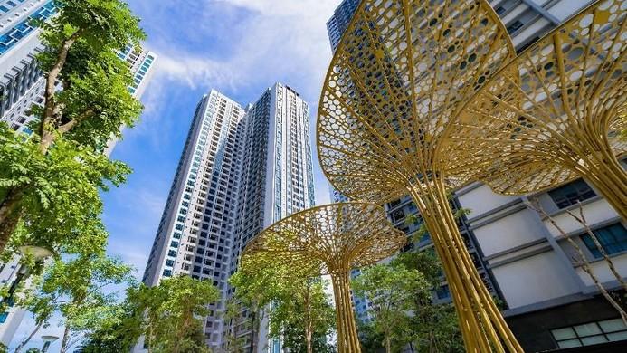 Khu đô thị Goldmark City quy mô với gần 5.000 căn hộ