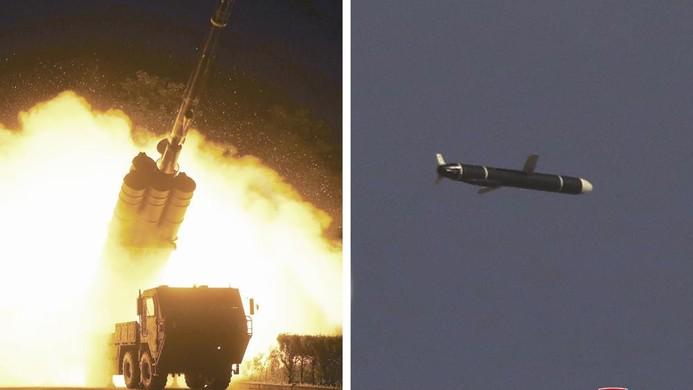 Triều Tiên thử nghiệm tên lửa hành trình tầm xa