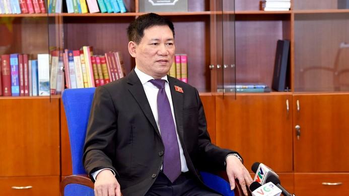 Bộ trưởng Hồ Đức Phớc cho biết, Bộ Tài chính sẽ tham mưu cho các cơ quan có thẩm quyền bố trí một khoản ngân sách riêng cho công tác phòng chống dịch năm 2022 - Ảnh: VGP/Nhật Bắc