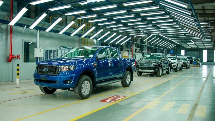 Ford Ranger phiên bản CKD chính thức xuất xưởng, đánh dấu cột mốc 20 năm