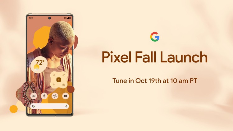Google Pixel 6 series sẽ ra mắt vào ngày 19/10, thông số kỹ thuật, giá bán