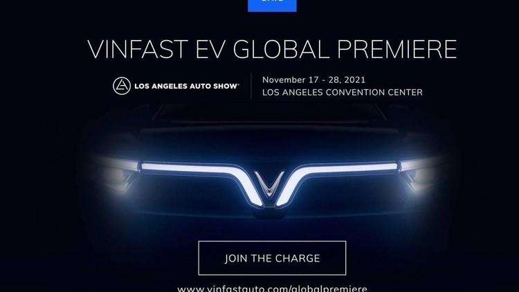 VinFast công bố 2 mẫu xe điện mới nhất tại Los Angeles Auto Show 2021