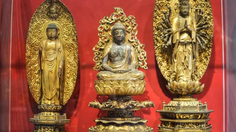 Nét tinh xảo của tượng Phật cổ Nhật Bản ở Sài Gòn