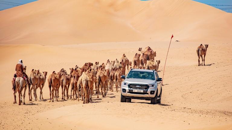Thử nghiệm Ford Ranger tại nơi nóng nhất trên hành tinh