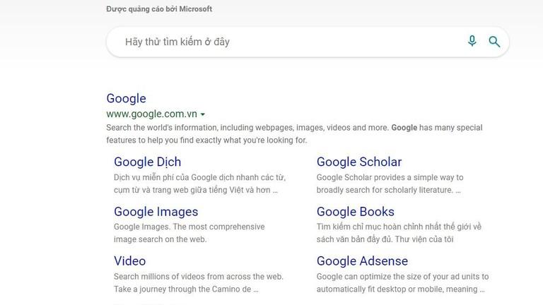 Google cho biết người dùng Bing tìm kiếm Google nhiều hơn bất kỳ điều gì khác