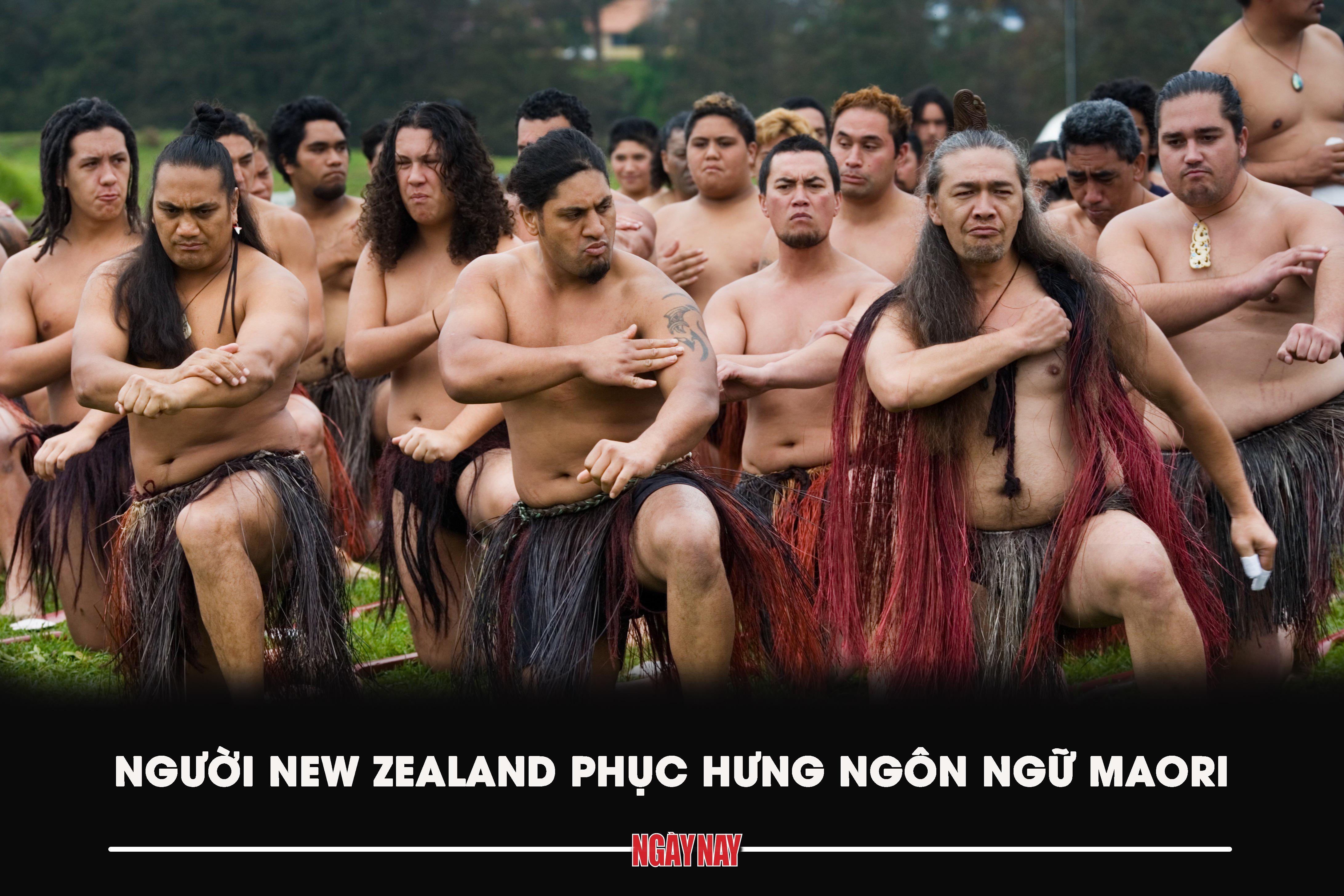 Người New Zealand phục hưng ngôn ngữ Maori