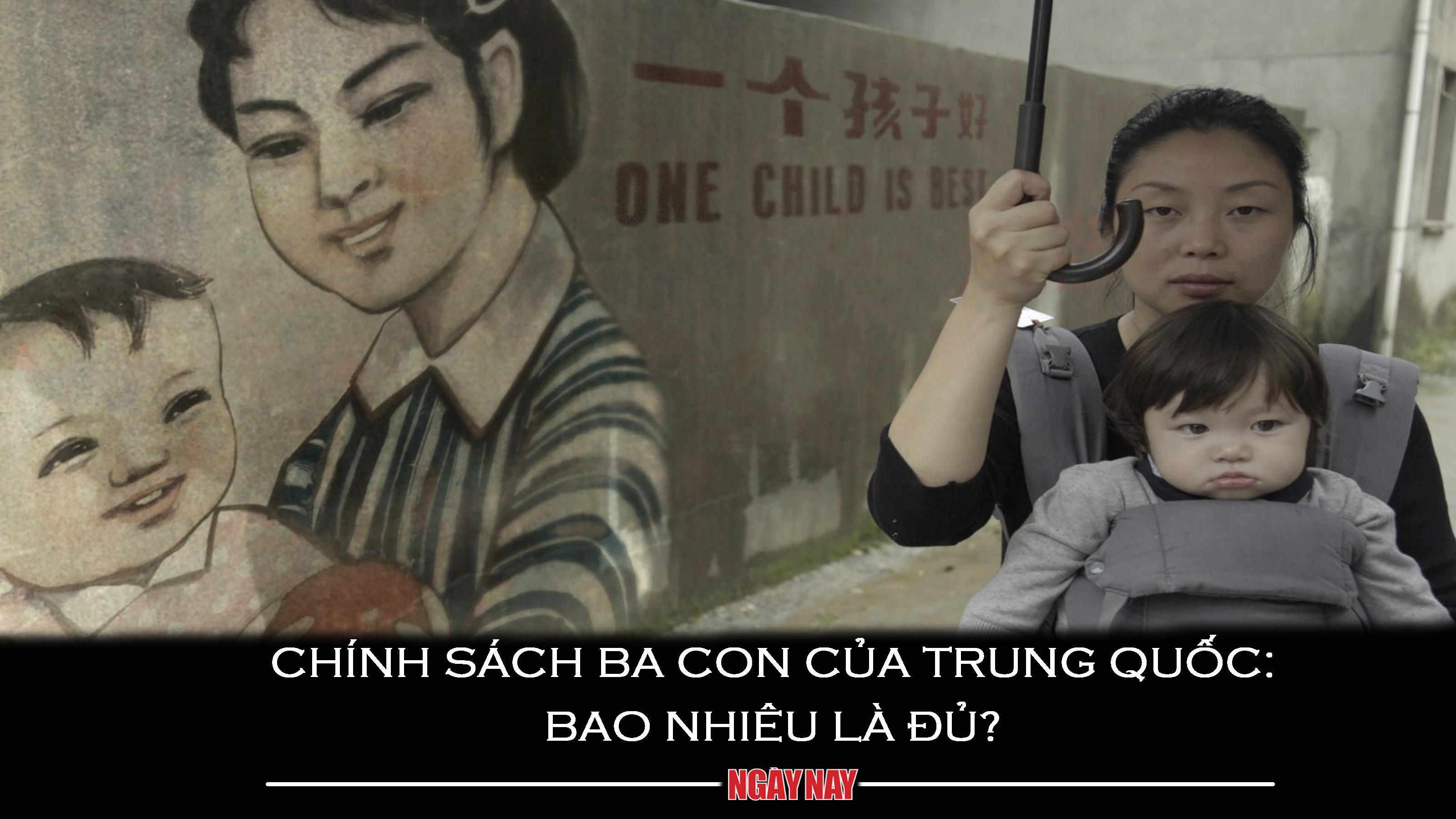 Chính sách ba con của Trung Quốc: Bao nhiêu là đủ?
