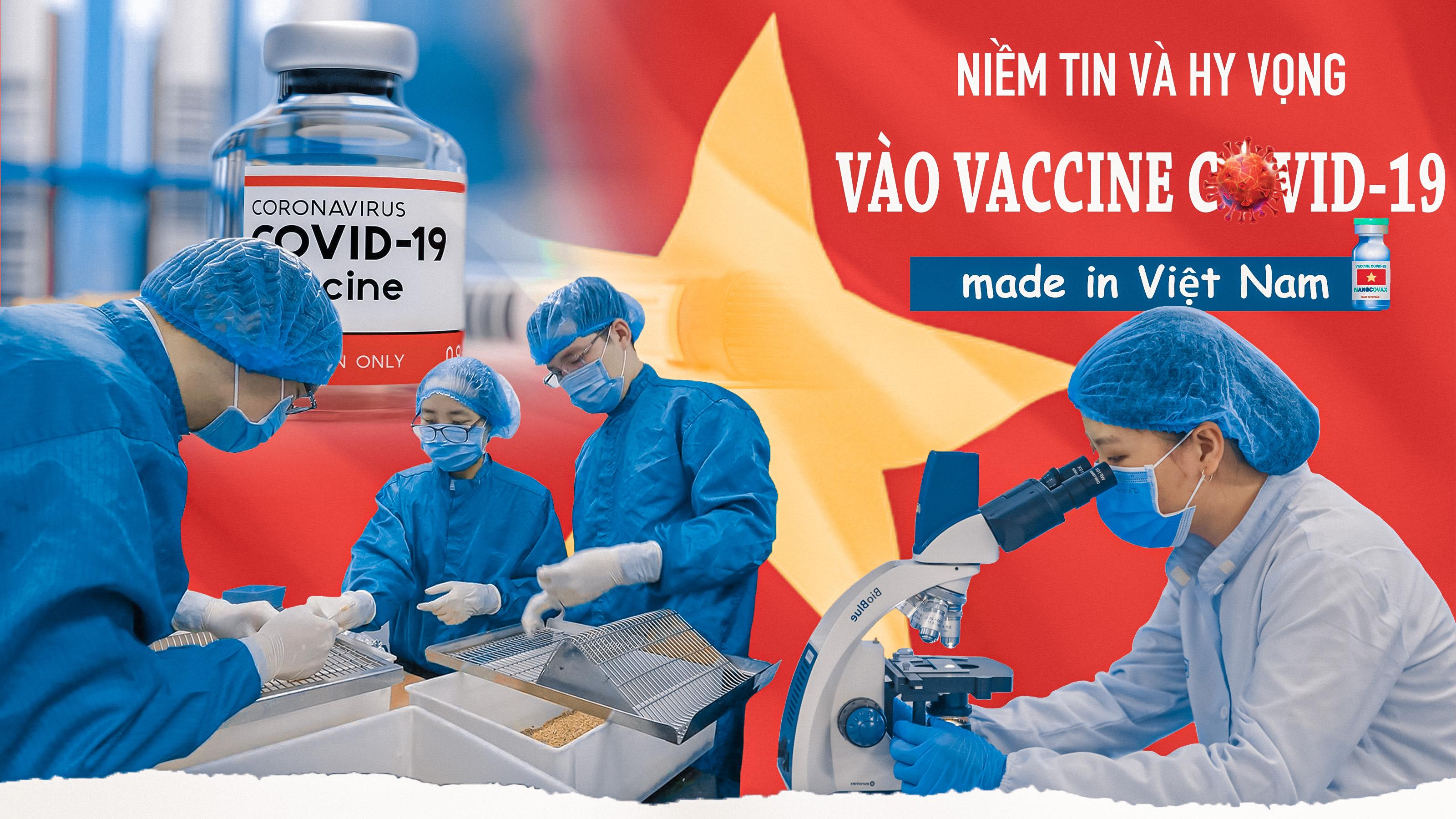 Niềm tin và hy vọng vào vaccine COVID-19 'made in Việt Nam'