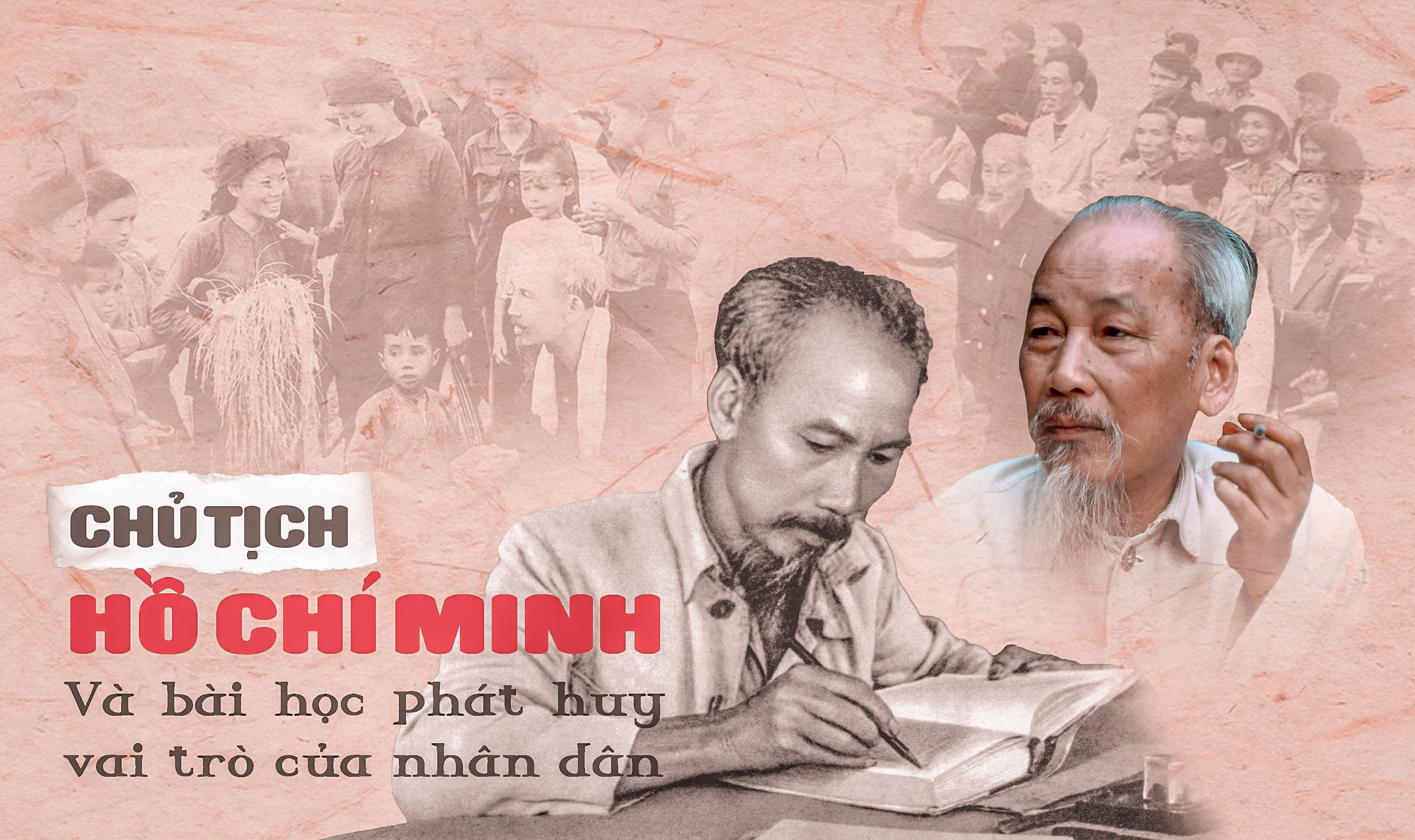 Chủ tịch Hồ Chí Minh và bài học phát huy vai trò của nhân dân