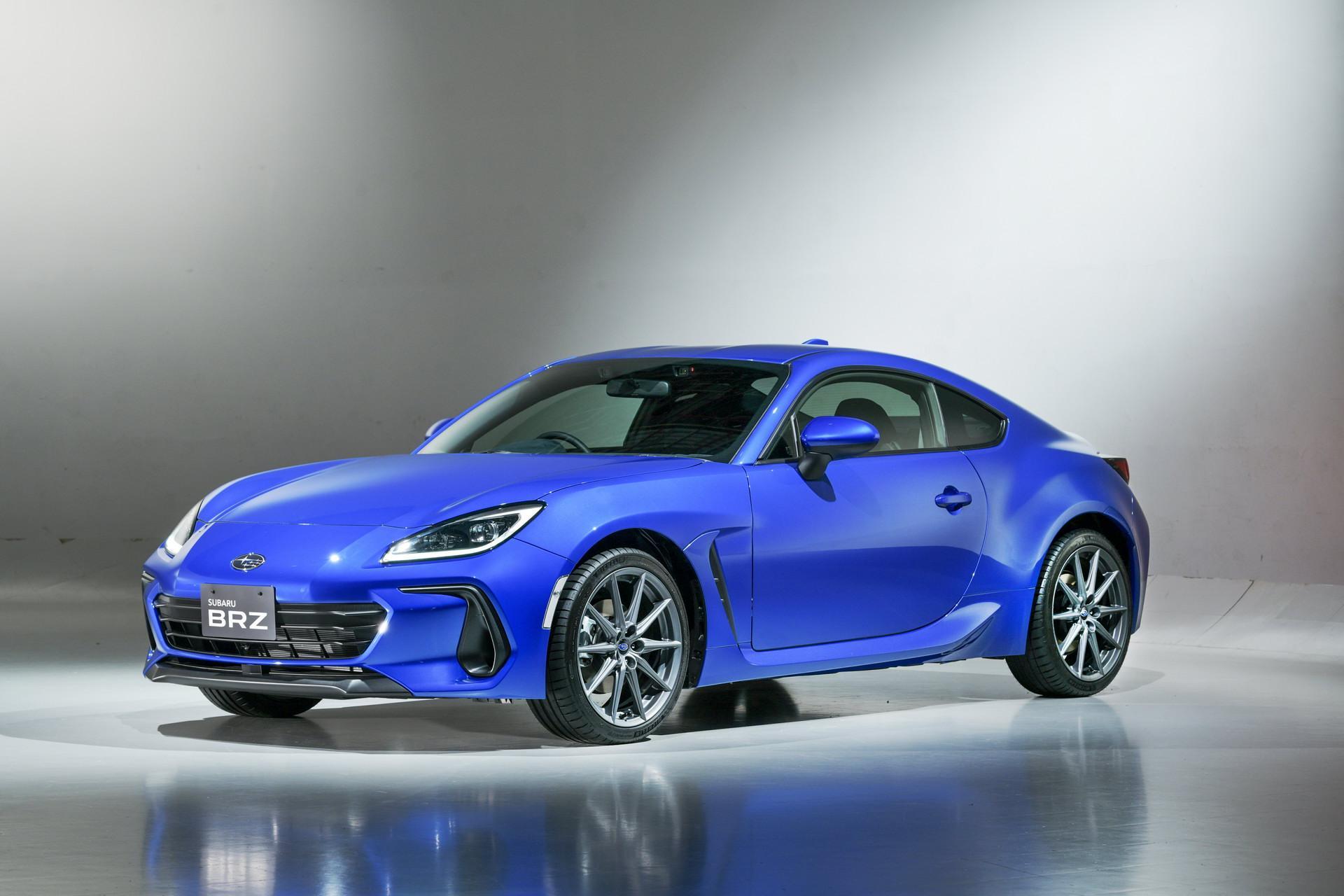 Bộ sưu tập: Subaru BRZ 2022 ra mắt tại Nhật Bản