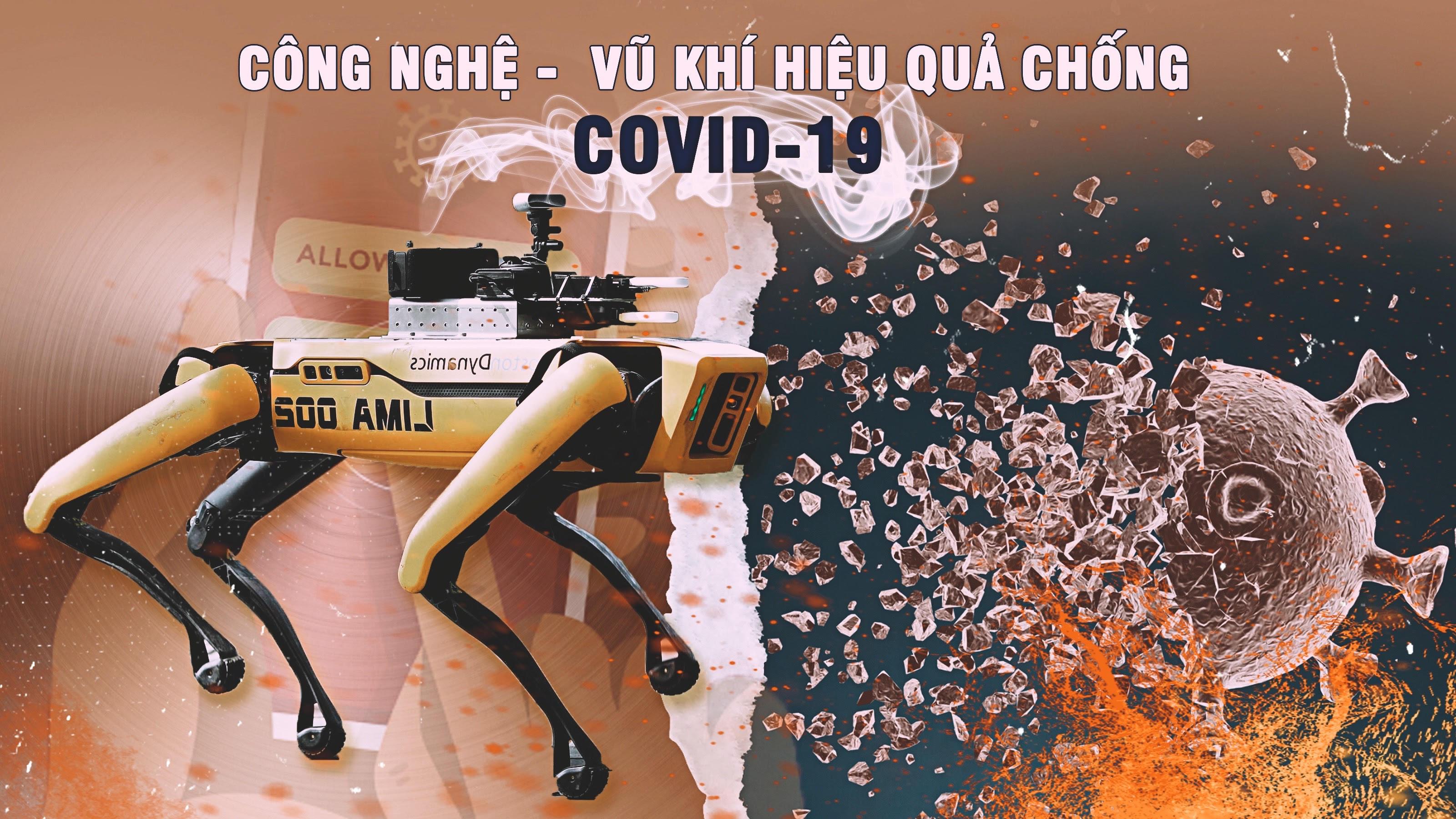 Công nghệ - Vũ khí hiệu quả chống COVID-19