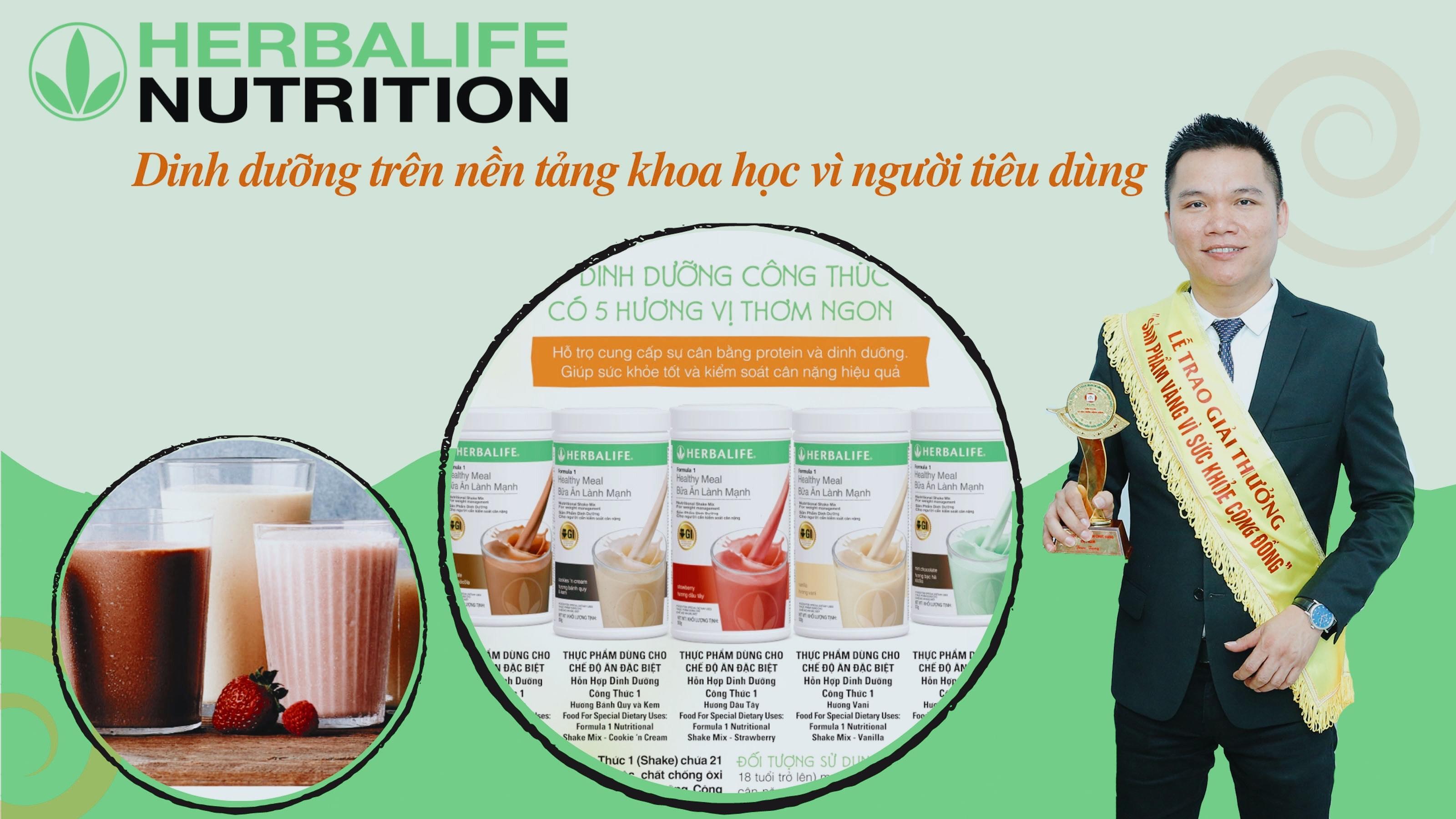 Herbalife Nutrition: Dinh dưỡng trên nền tảng khoa học vì người tiêu dùng