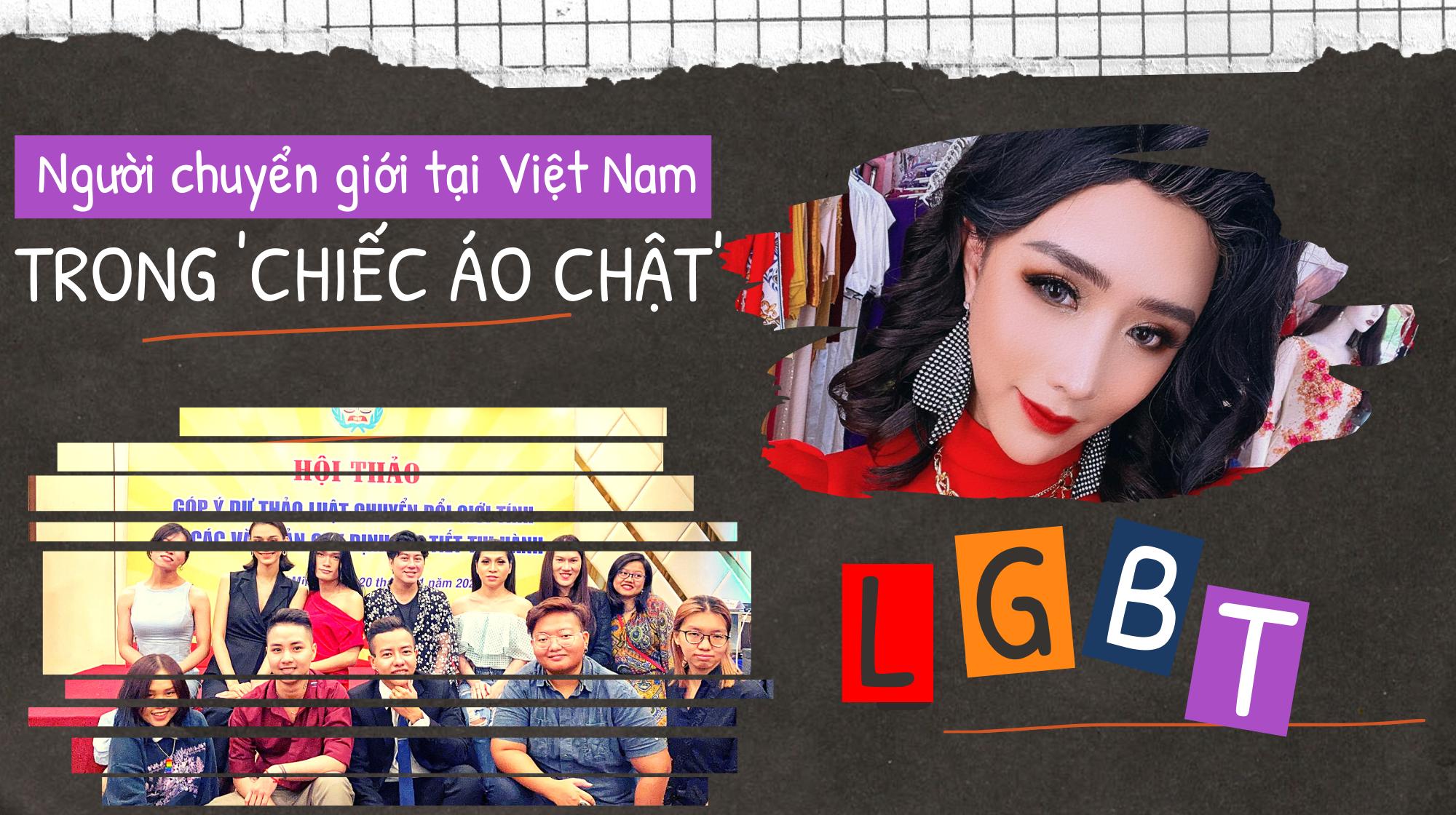 Người chuyển giới tại Việt Nam trong 'chiếc áo chật'