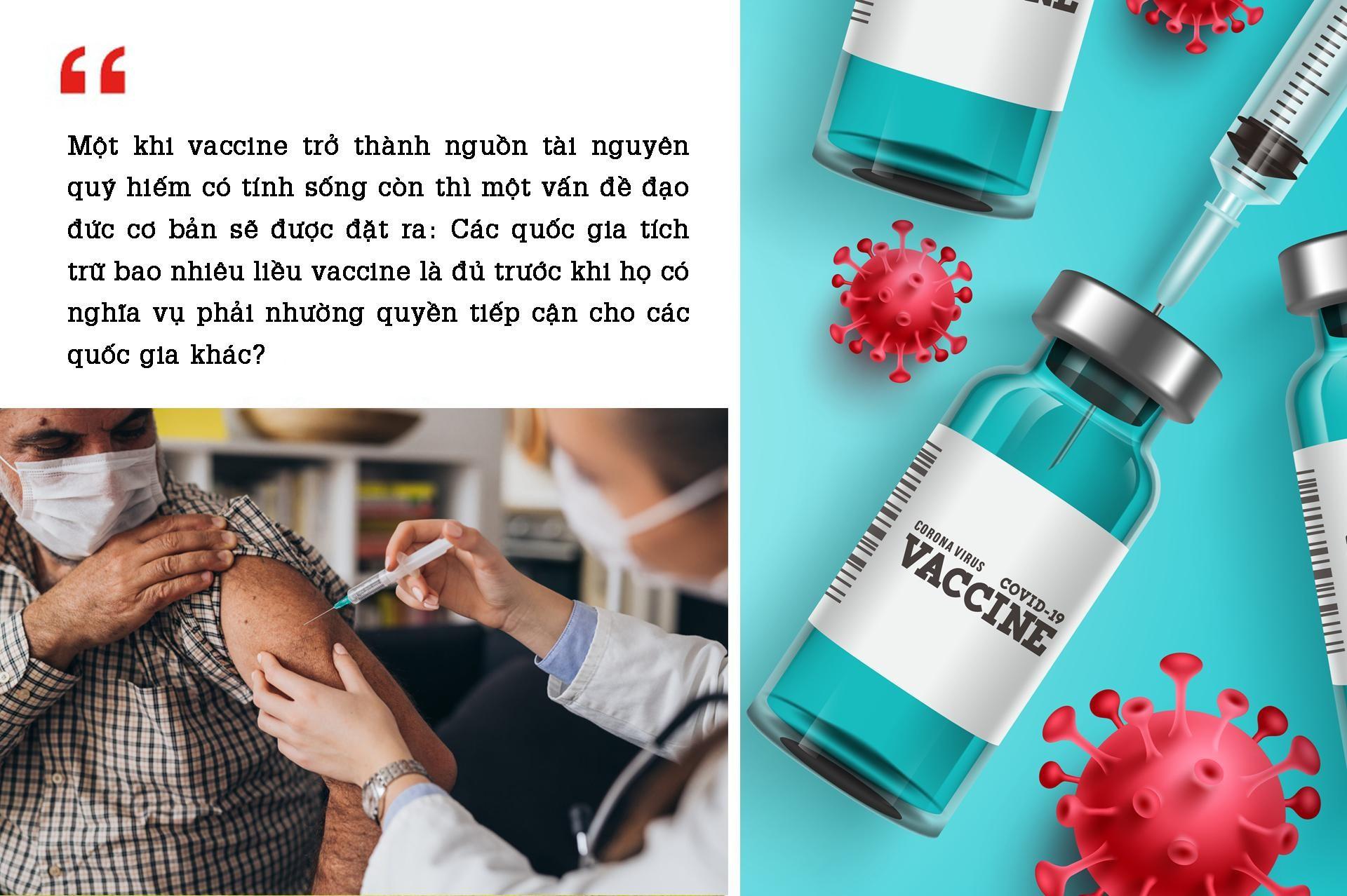 Vaccine COVID-19: Chia sẻ hay tích trữ? ảnh 2